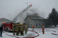 19 Structure fire Cobourg